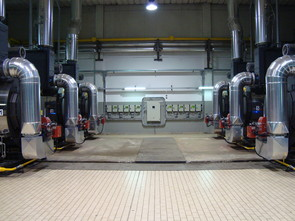 Baltur plant in Rome; burner controlled with Etamatic OEM